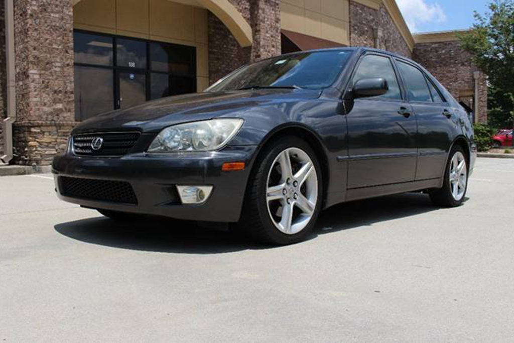 2002 Lexus IS 300 With A Manual Transmission