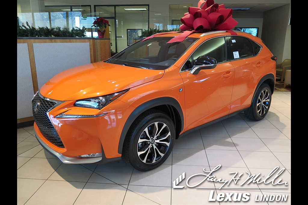 Bright Orange 2017 Lexus NX 200t