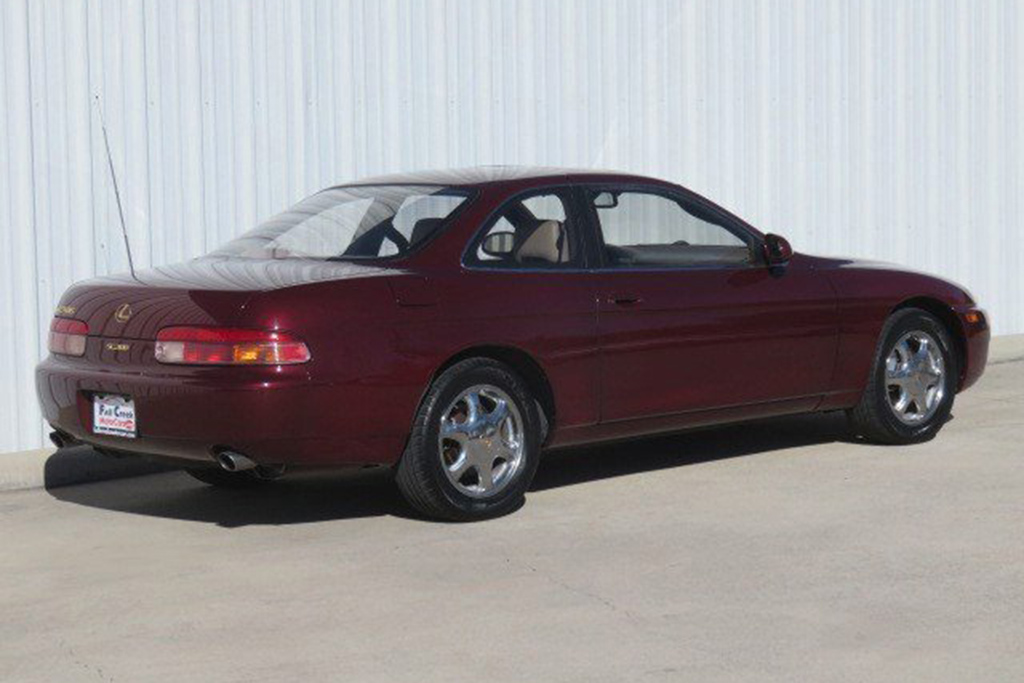 1996 Lexus SC 300 With A Manual Transmission