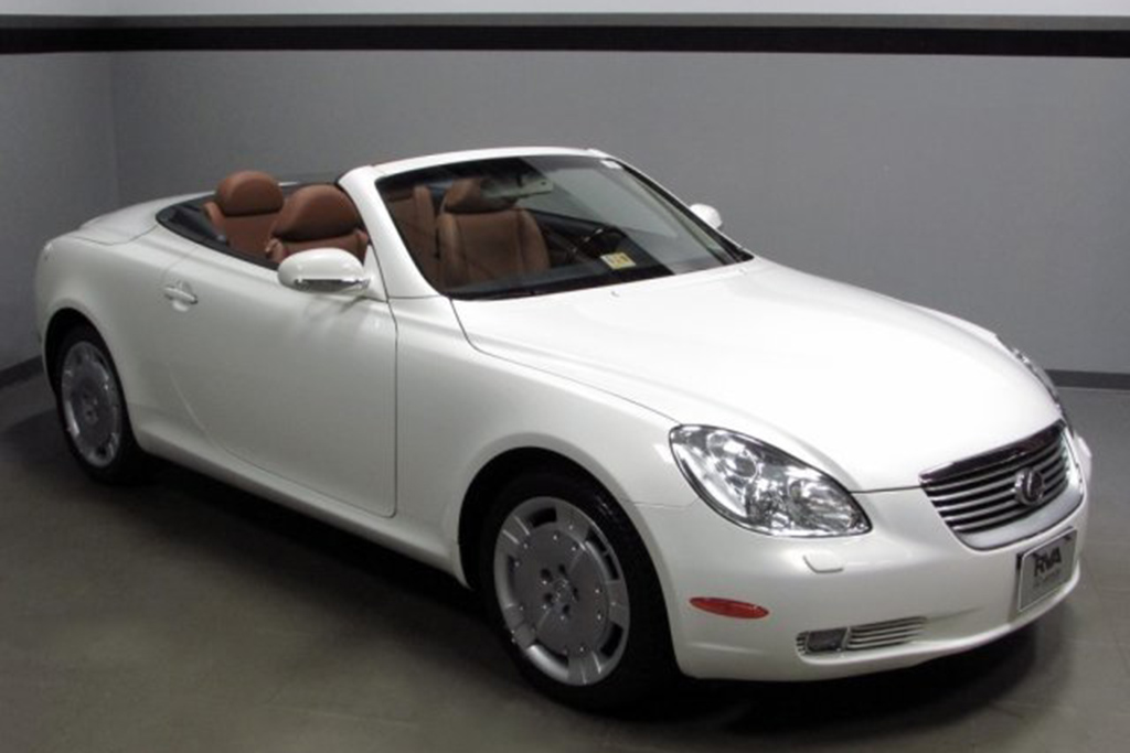 2002 Lexus SC 430 With Under 15,000 Miles