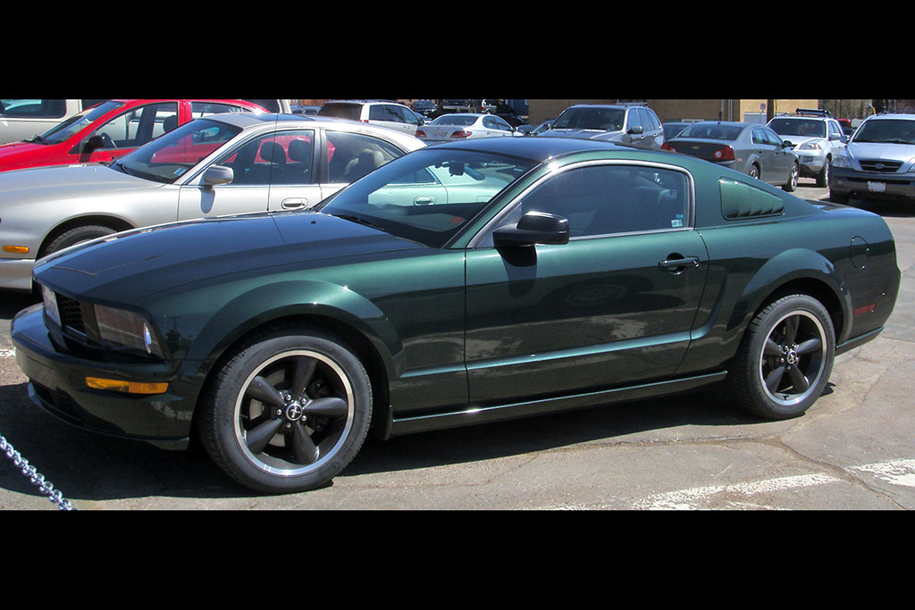 Bullitt Ford Mustangs: Dark Highland Green