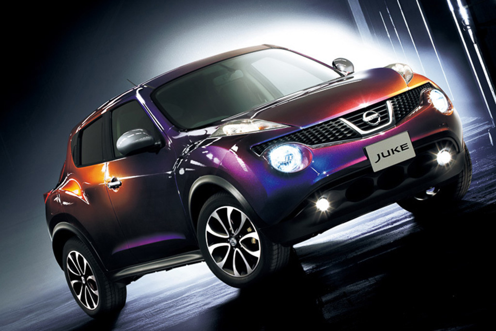 Nissan Juke Special Edition: Midnight Purple IV