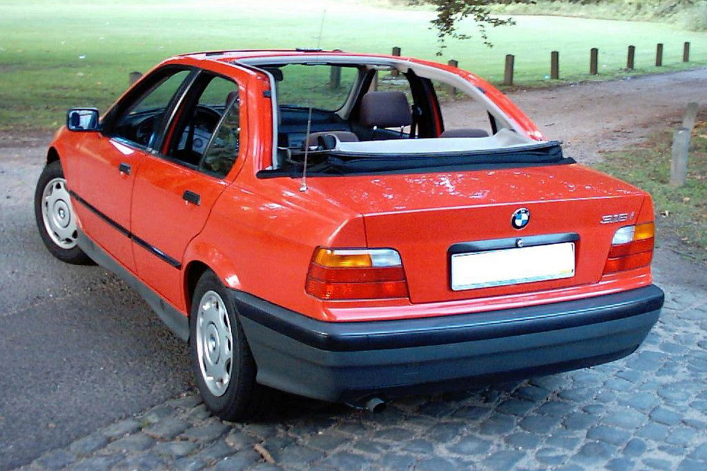 BMW 3 Series Baur Convertible
