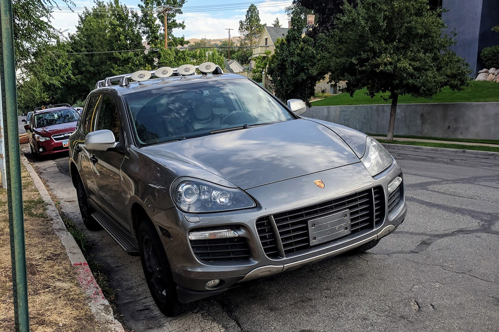 First-Generation Porsche Cayenne Turbo