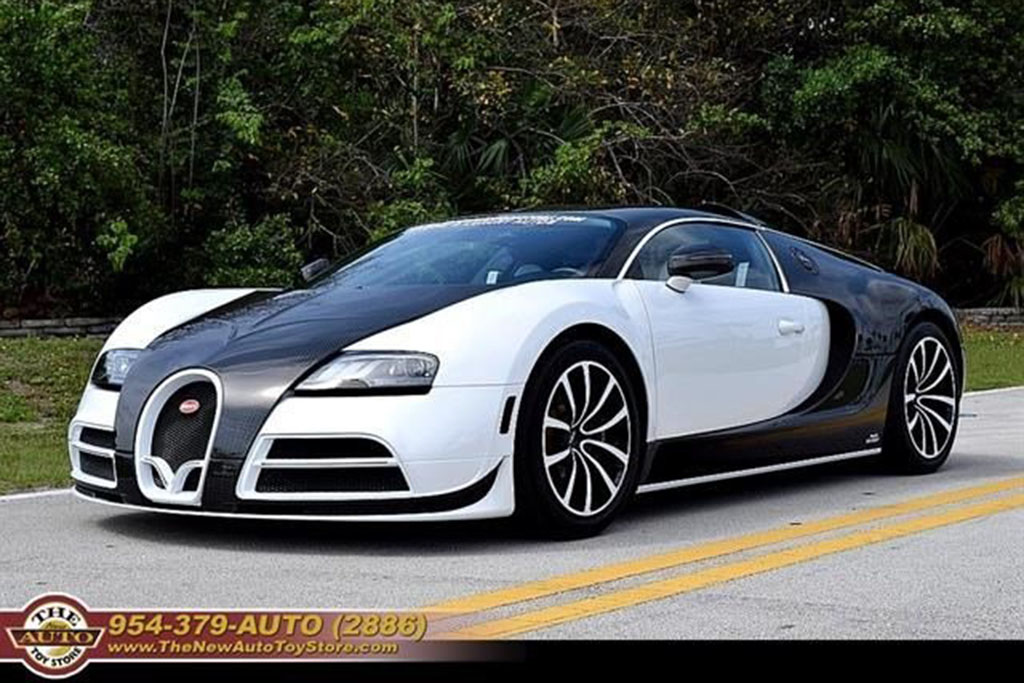 The Most Expensive: 2008 Bugatti Veyron