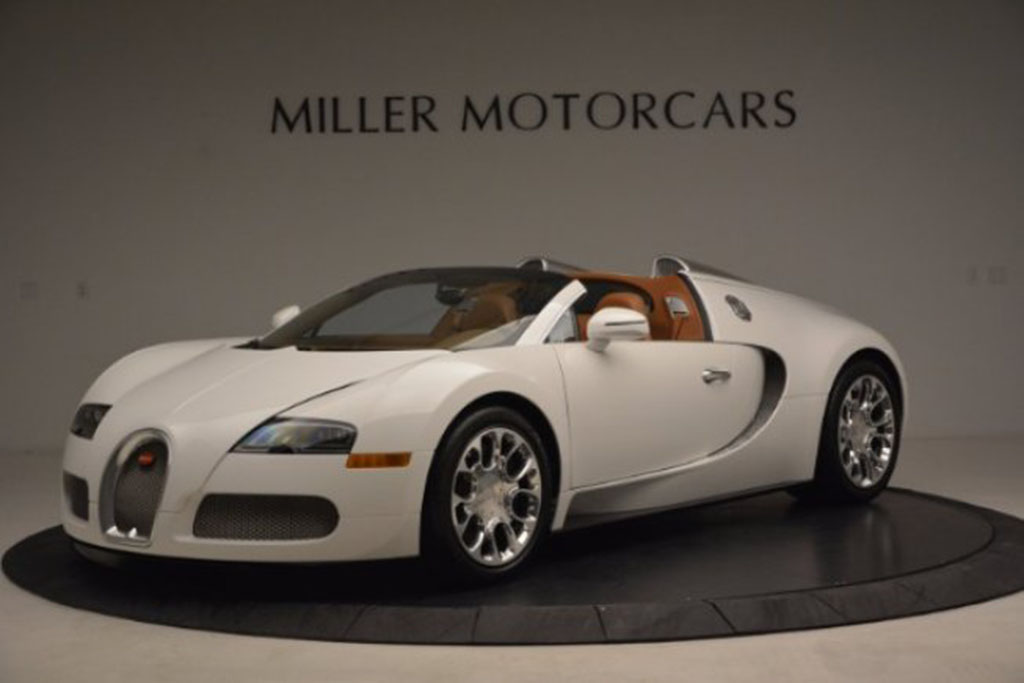 The Convertible: 2011 Bugatti Veyron