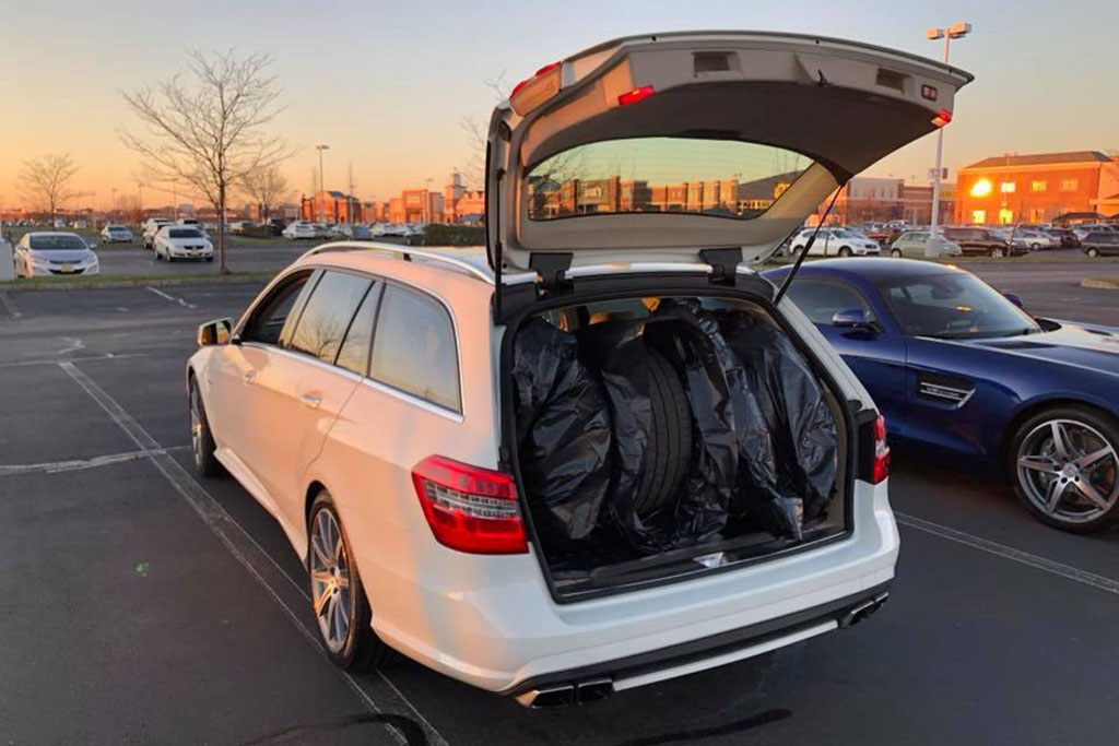 Doug's Mercedes-Benz E63 AMG Wagon With Winter Tires