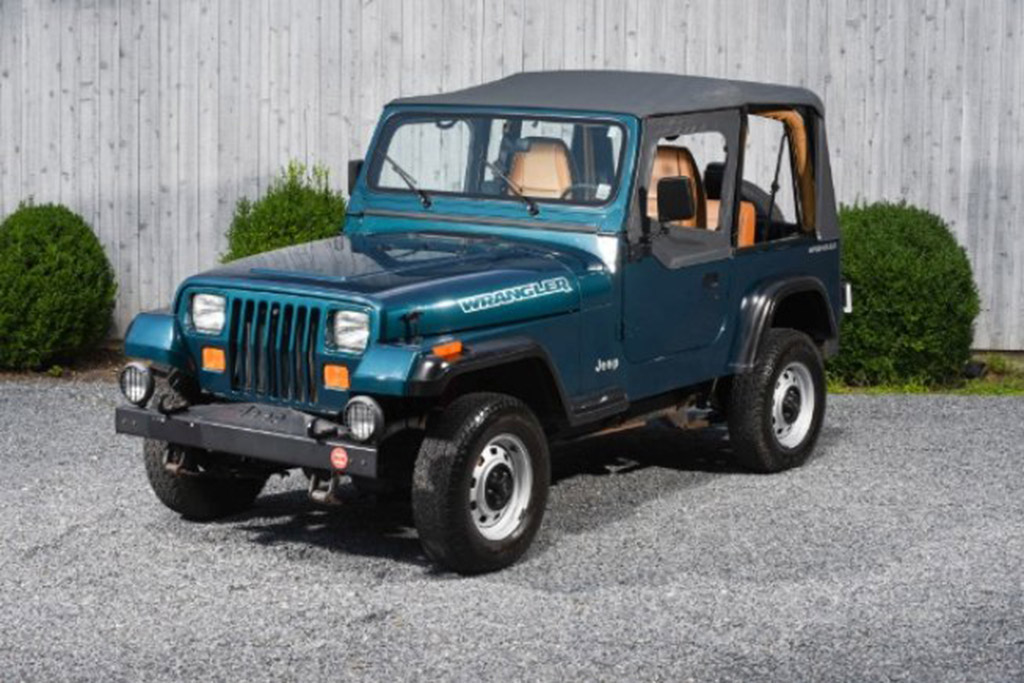 The Time Capsule: 1995 Jeep Wrangler With 19,800 Miles - $15,995