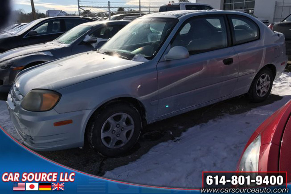 One-Owner 1995 Hyundai Accent