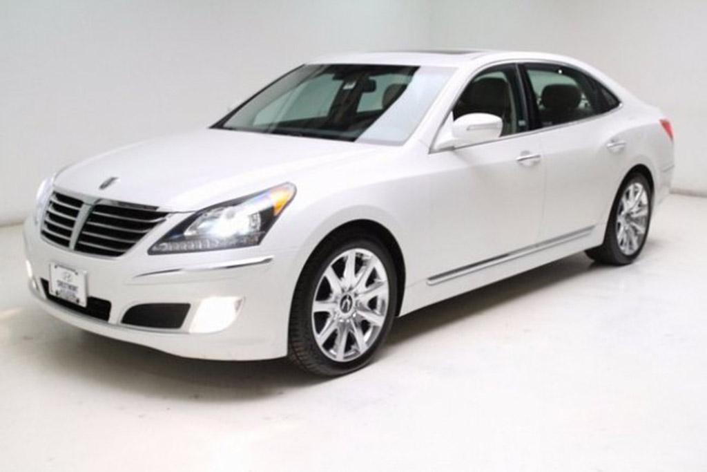 2012 Hyundai Equus For $11,500