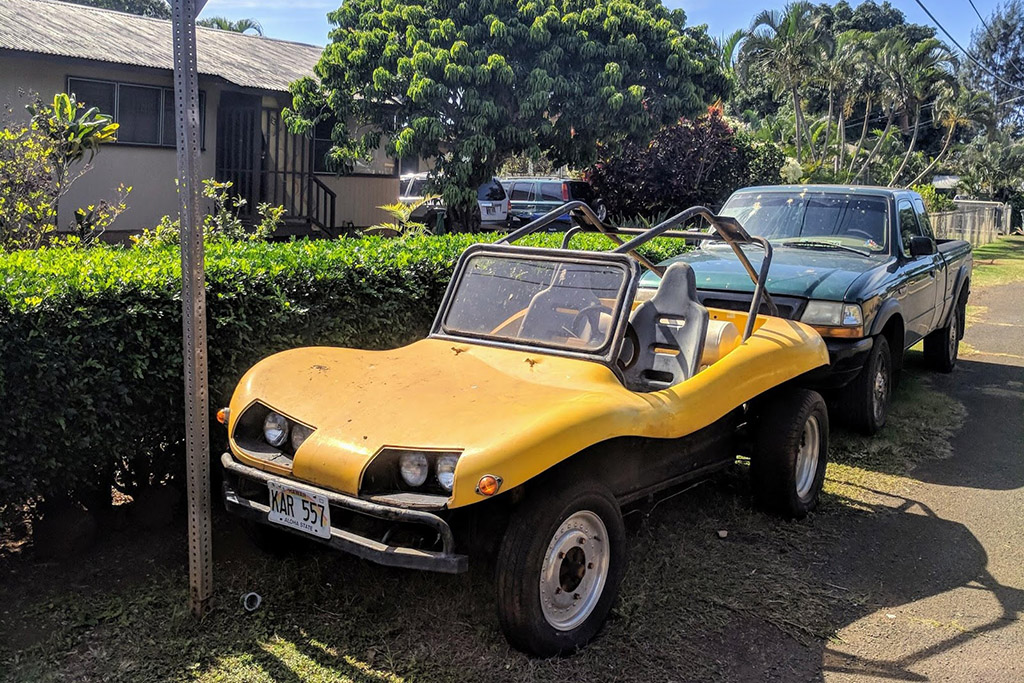 Buggy in Kauai