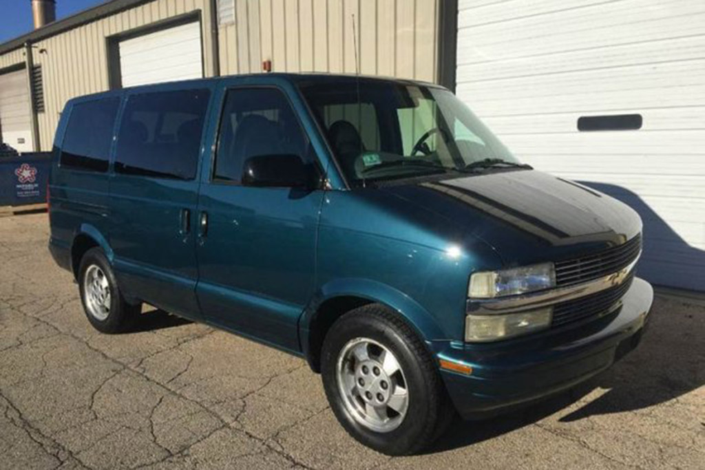 2003 Chevy Astro With 34,000 Miles