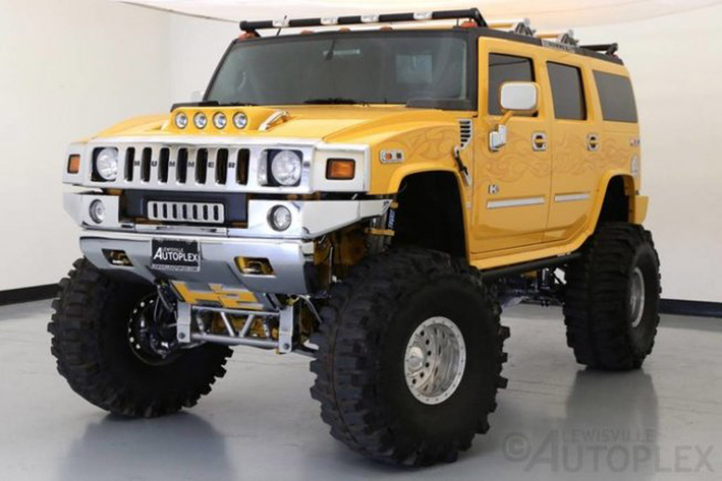 Crazy Lifted Hummer H2