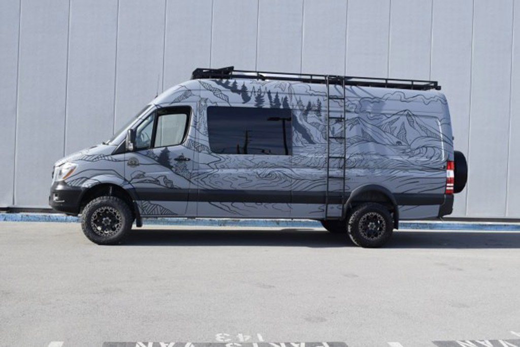 2017 Mercedes-Benz Sprinter Off-Roader -- $215,894