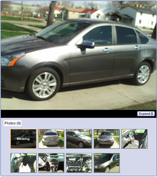 AutoTrader.com sell a car photos