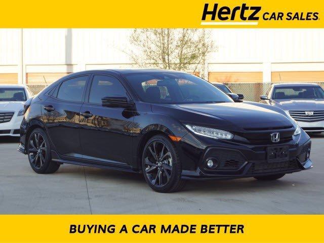 2018 Honda Civic Sport Touring Hatchback image