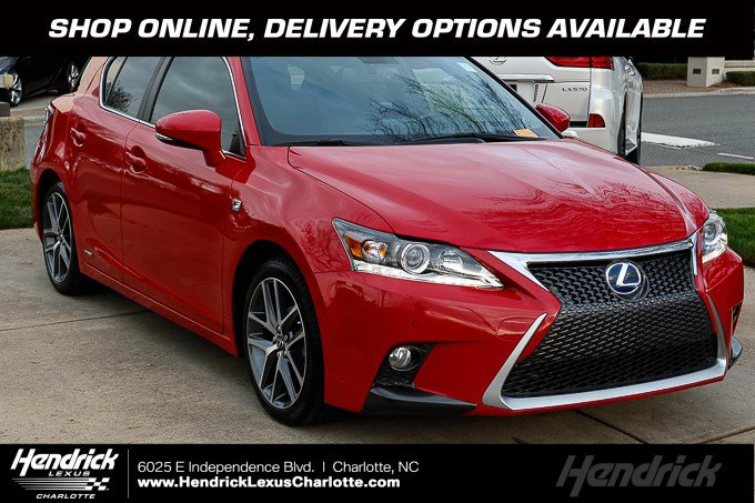 2014 Lexus CT 200h w/ F-Sport Package image