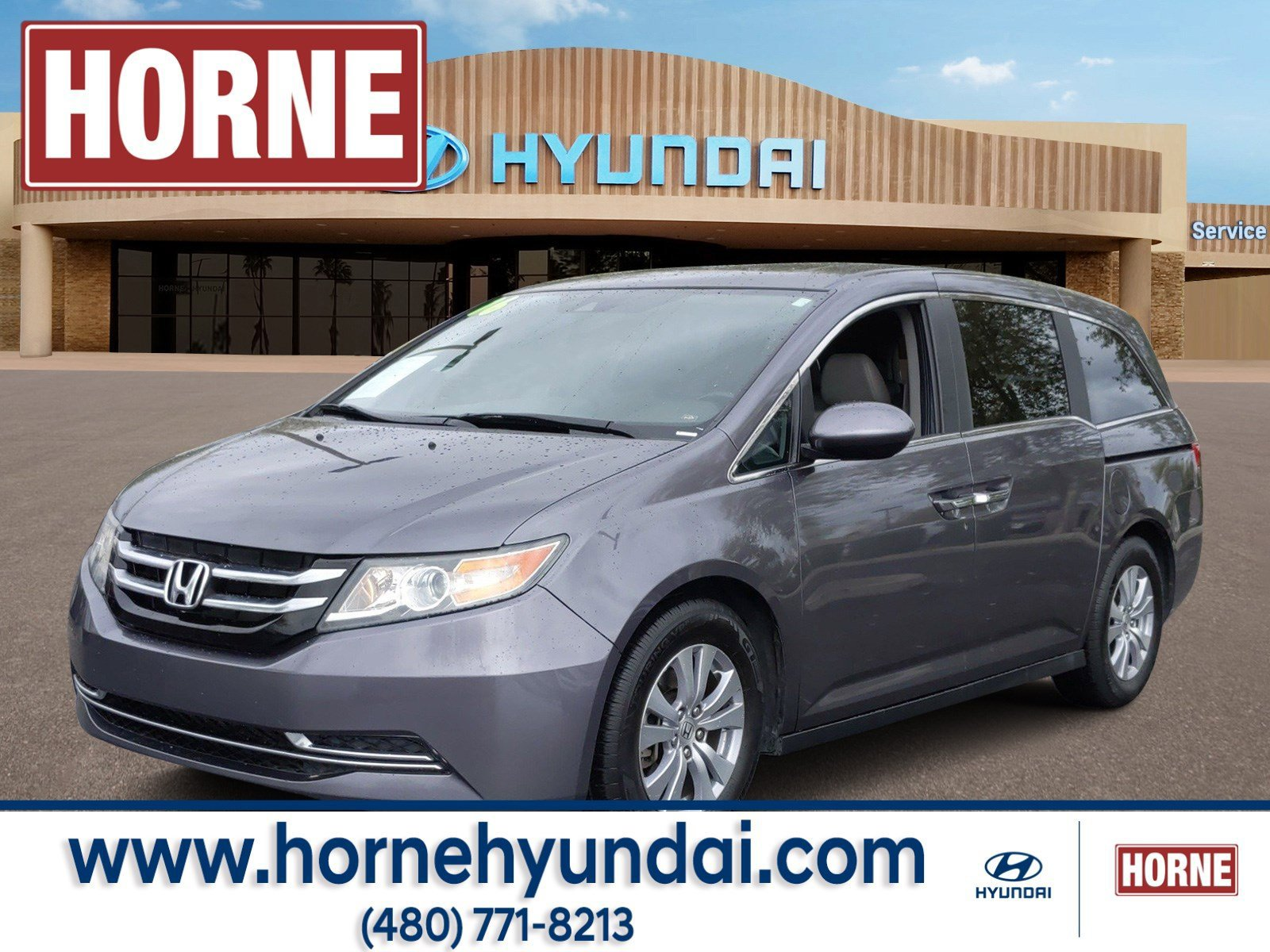 2016 Honda Odyssey EX-L image