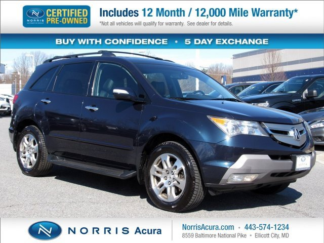 2009 Acura MDX w/ Technology & Entertainment image