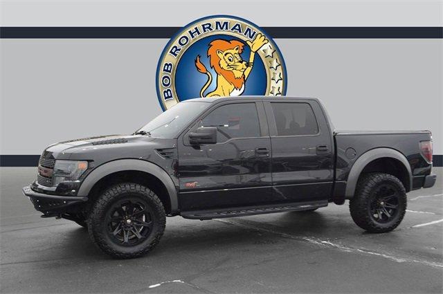 2013 Ford F150 4x4 Crew Cab SVT Raptor image