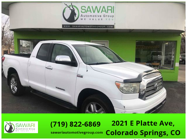 2007 Toyota Tundra 4x4 Double Cab Limited image