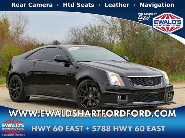 2011 Cadillac CTS V Coupe w/ WOOD TRIM PACKAGE image