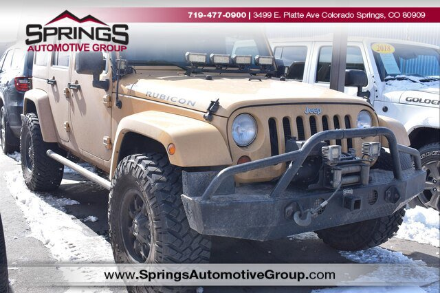 2013 Jeep Wrangler 4WD Unlimited Rubicon image