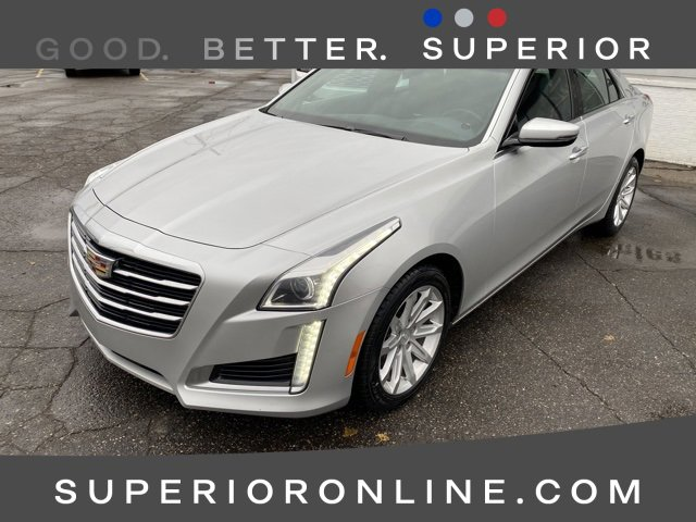 2015 Cadillac CTS Luxury AWD Sedan image