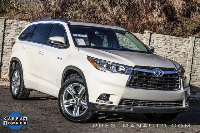 2015 Toyota Highlander AWD Limited Hybrid image