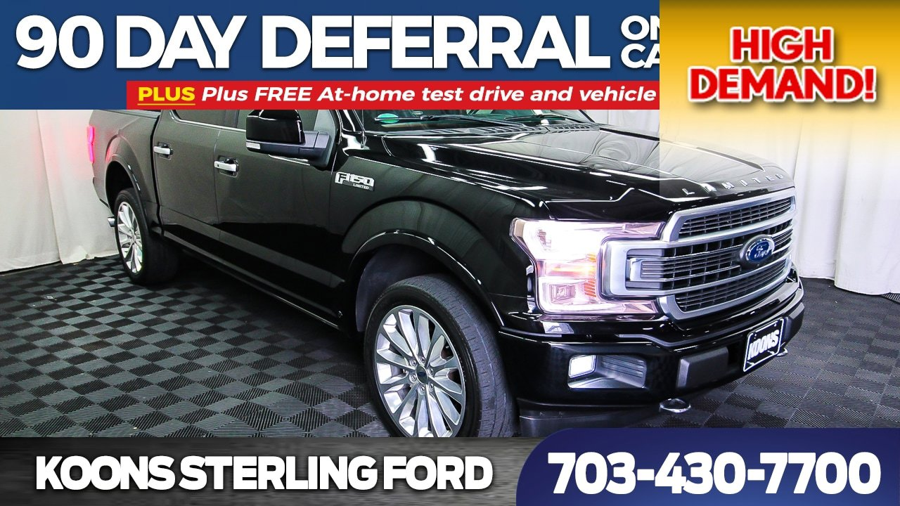 2018 Ford F150 SuperCrew Limited image