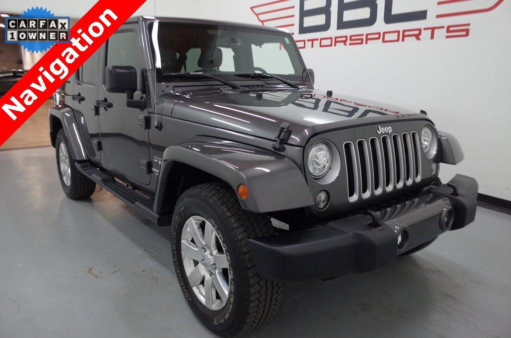 2017 Jeep Wrangler Unlimited Sahara image