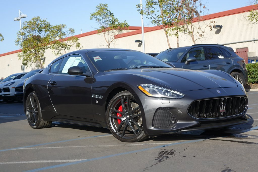 2018 Maserati GranTurismo Coupe image