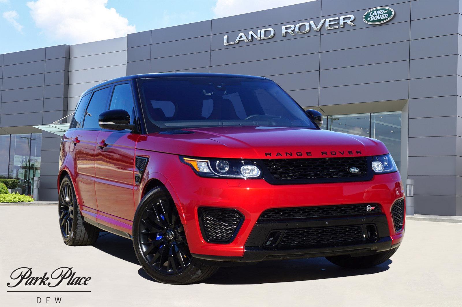 2017 Land Rover Range Rover Sport SVR image