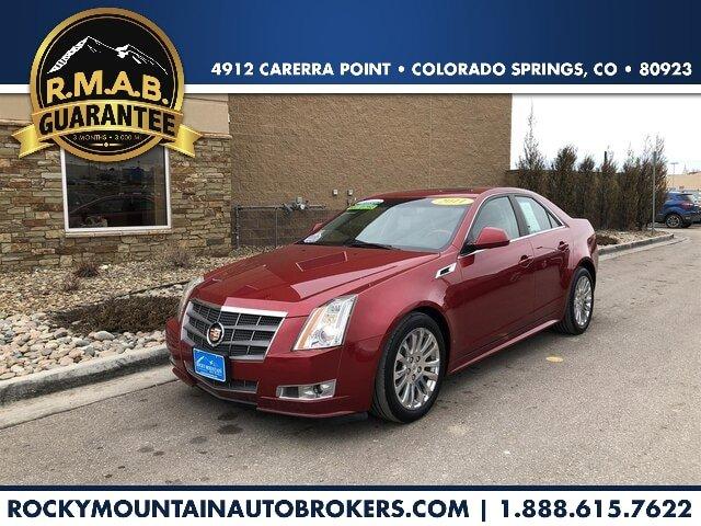 2011 Cadillac CTS Premium AWD Sedan image