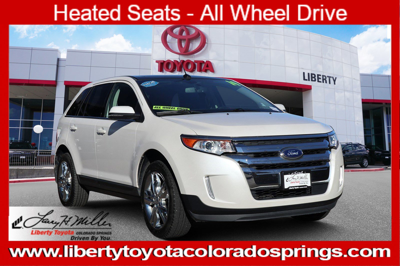 2014 Ford Edge AWD Limited image