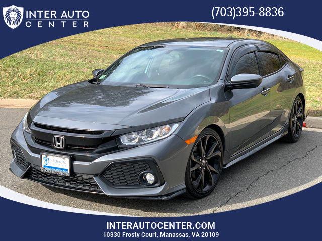 2017 Honda Civic Sport Hatchback image