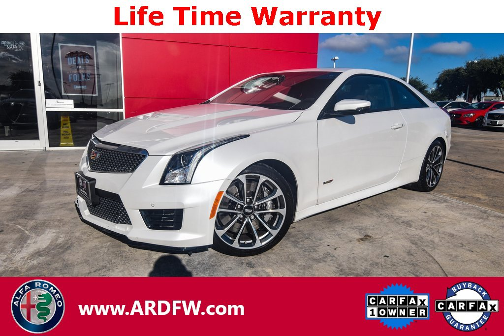 2016 Cadillac ATS V Coupe w/ Luxury Package image