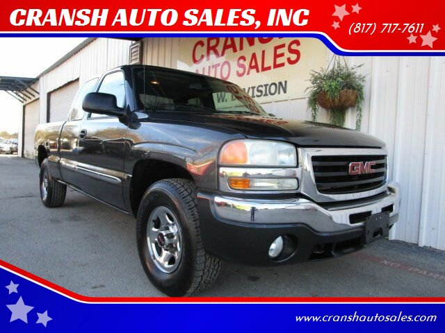 2004 GMC Sierra 1500 4x4 Extended Cab image