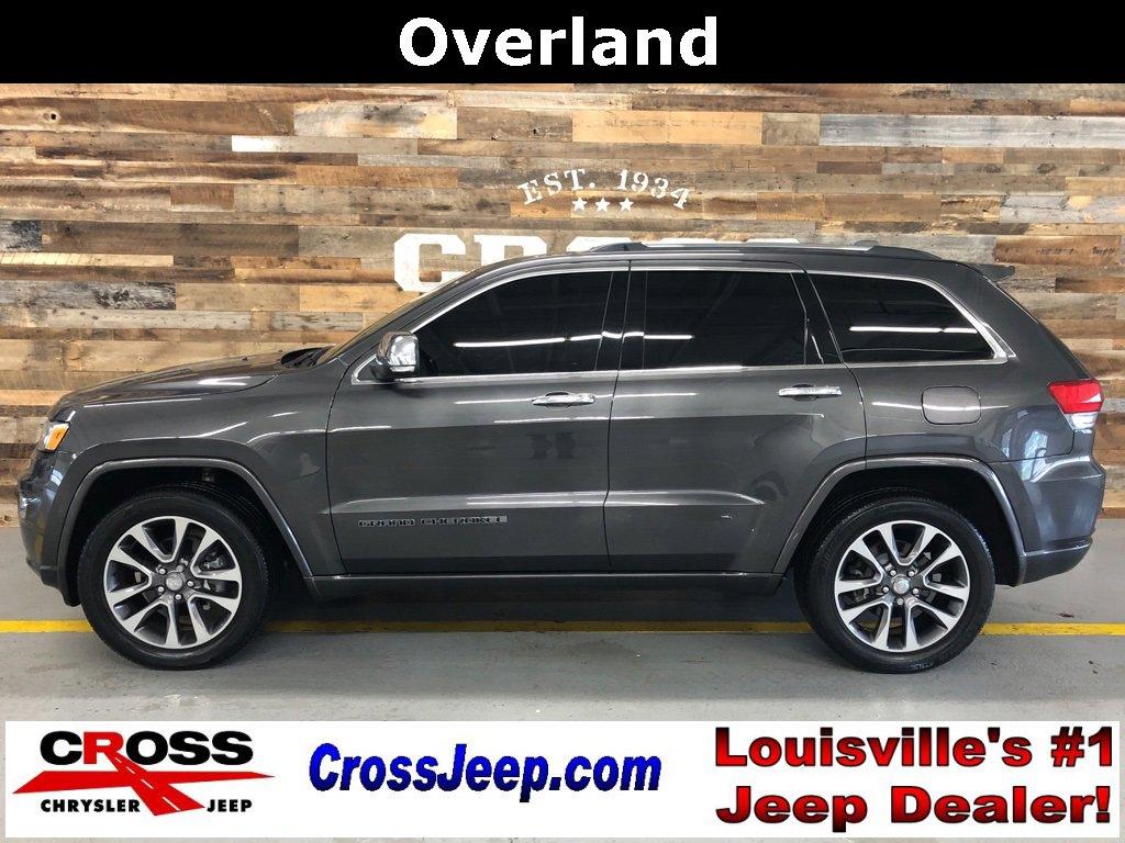 2018 Jeep Grand Cherokee 4WD Overland image