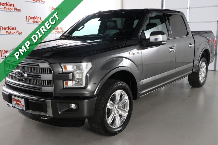 2015 Ford F150 4x4 SuperCrew Platinum image