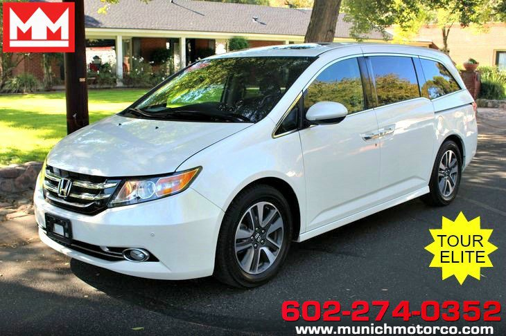 2015 Honda Odyssey Touring Elite image
