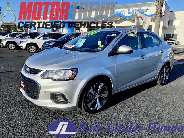 2017 Chevrolet Sonic Premier Sedan image