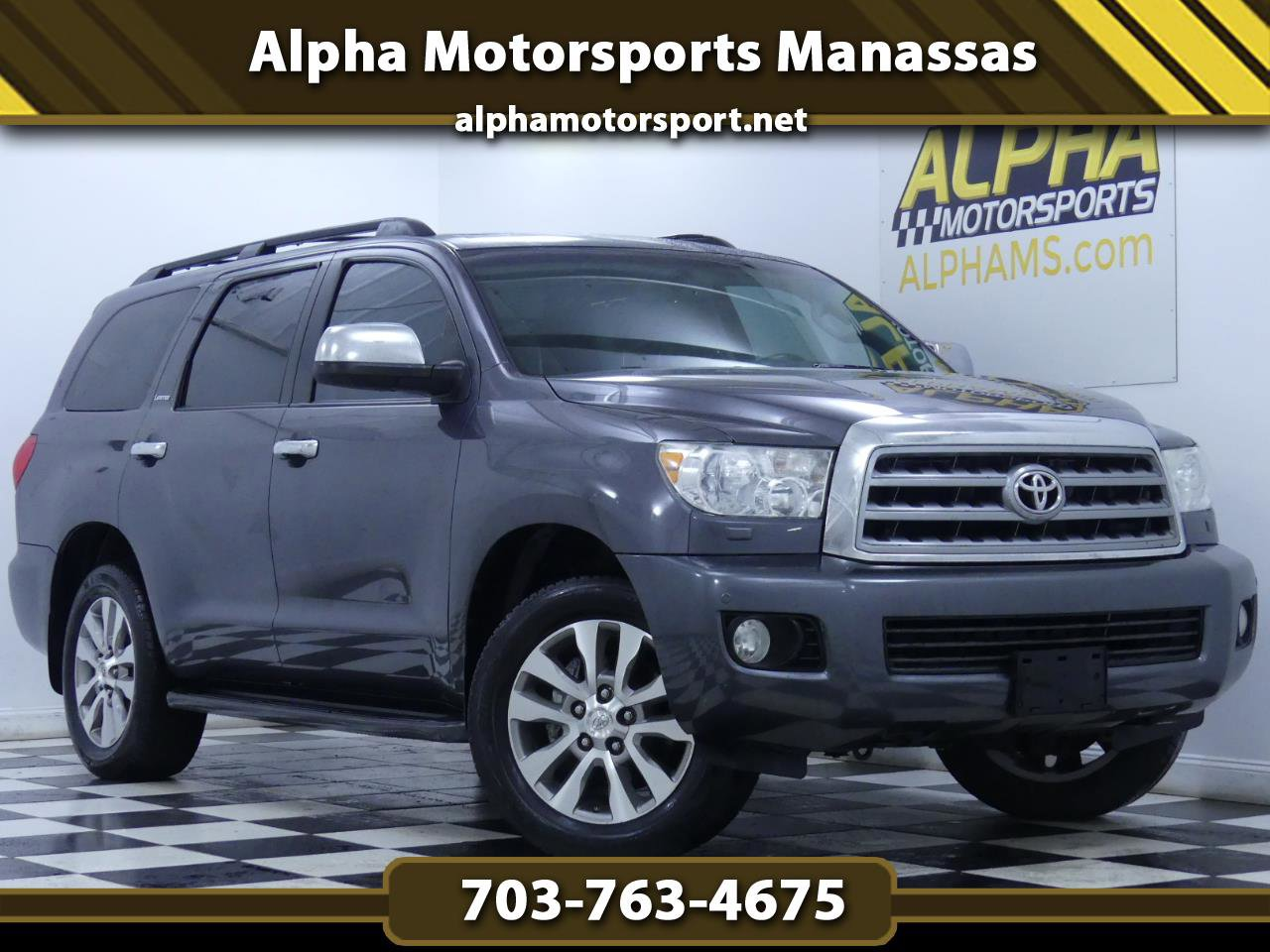 2011 Toyota Sequoia 4WD Limited image