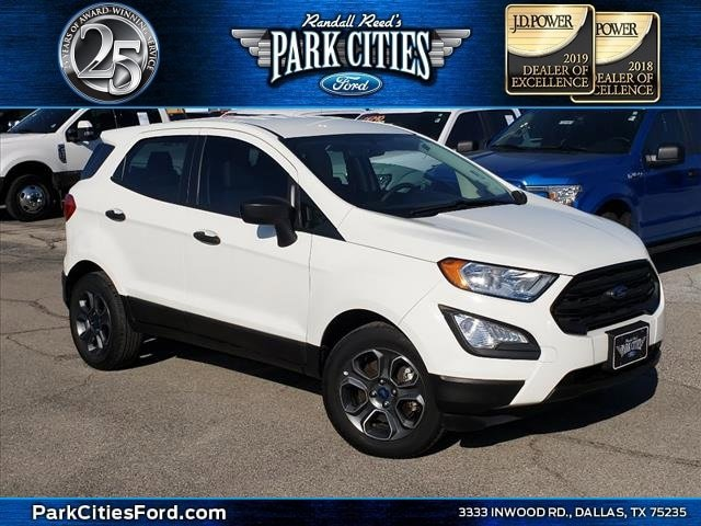 2018 Ford EcoSport FWD S image