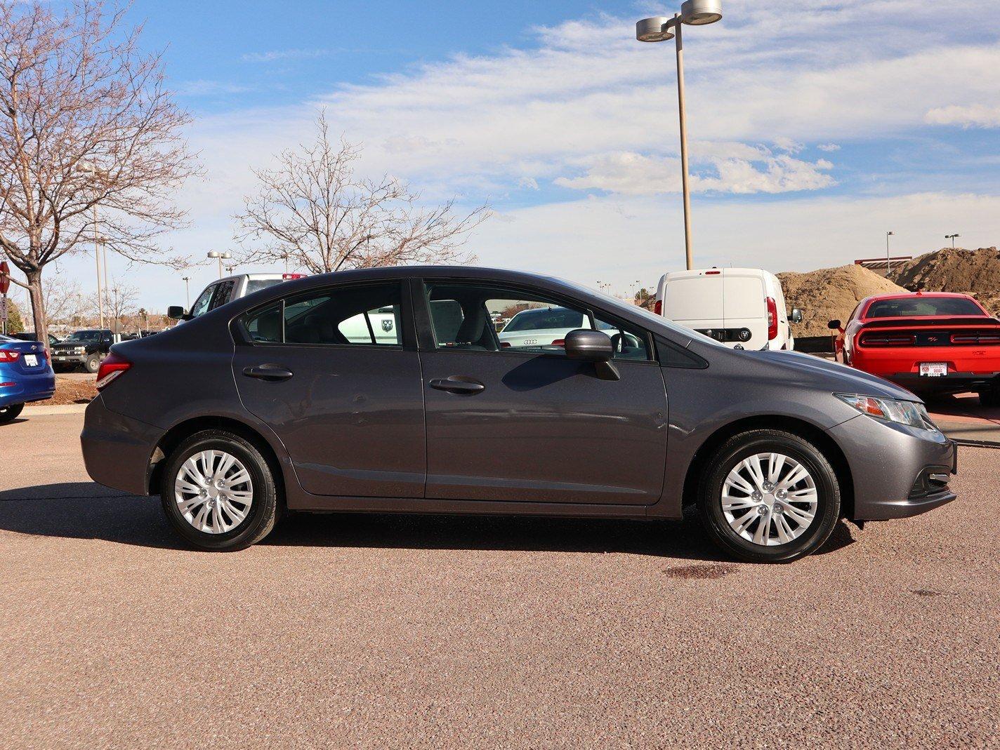2014 Honda Civic LX Sedan image