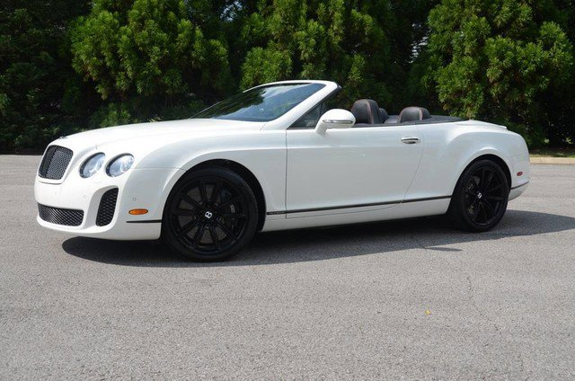 2011 Bentley Continental Supersports Convertible image