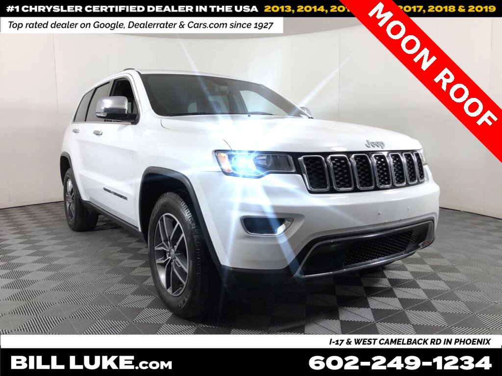 2018 Jeep Grand Cherokee 4WD Limited image