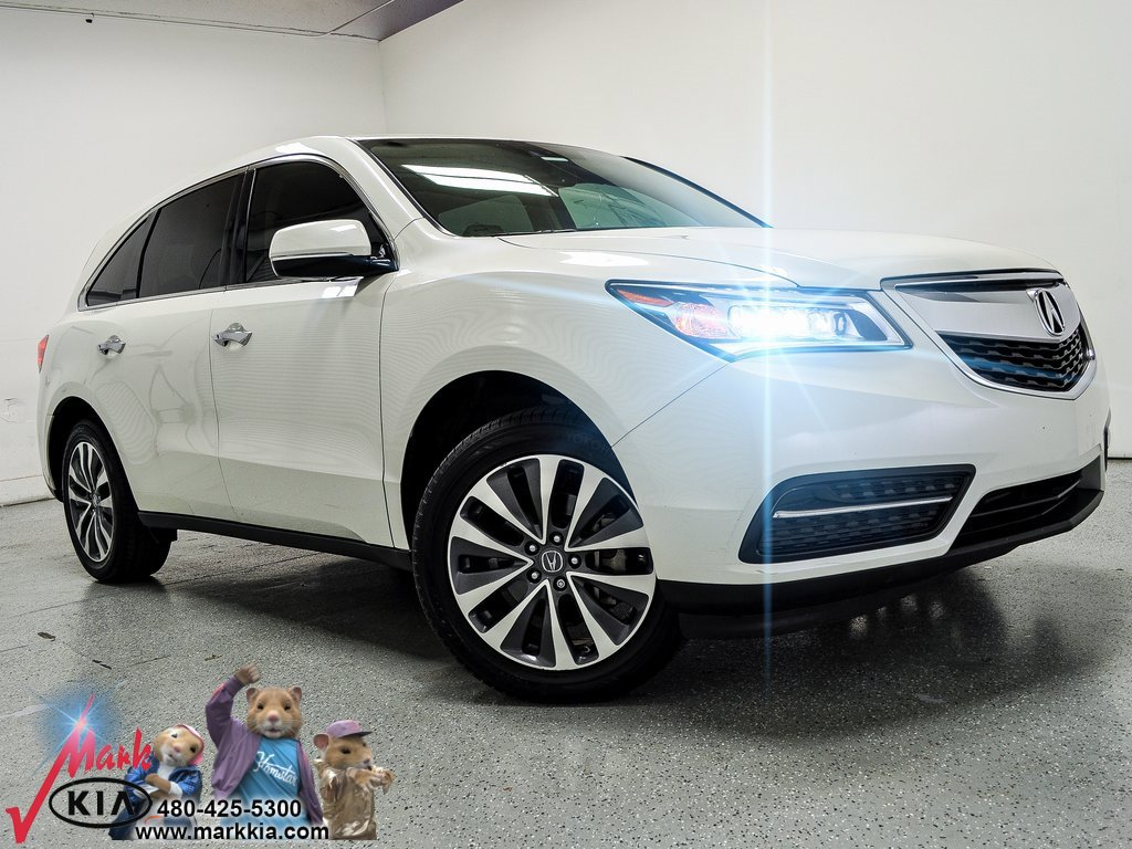 2015 Acura MDX FWD w/ Technology Package image