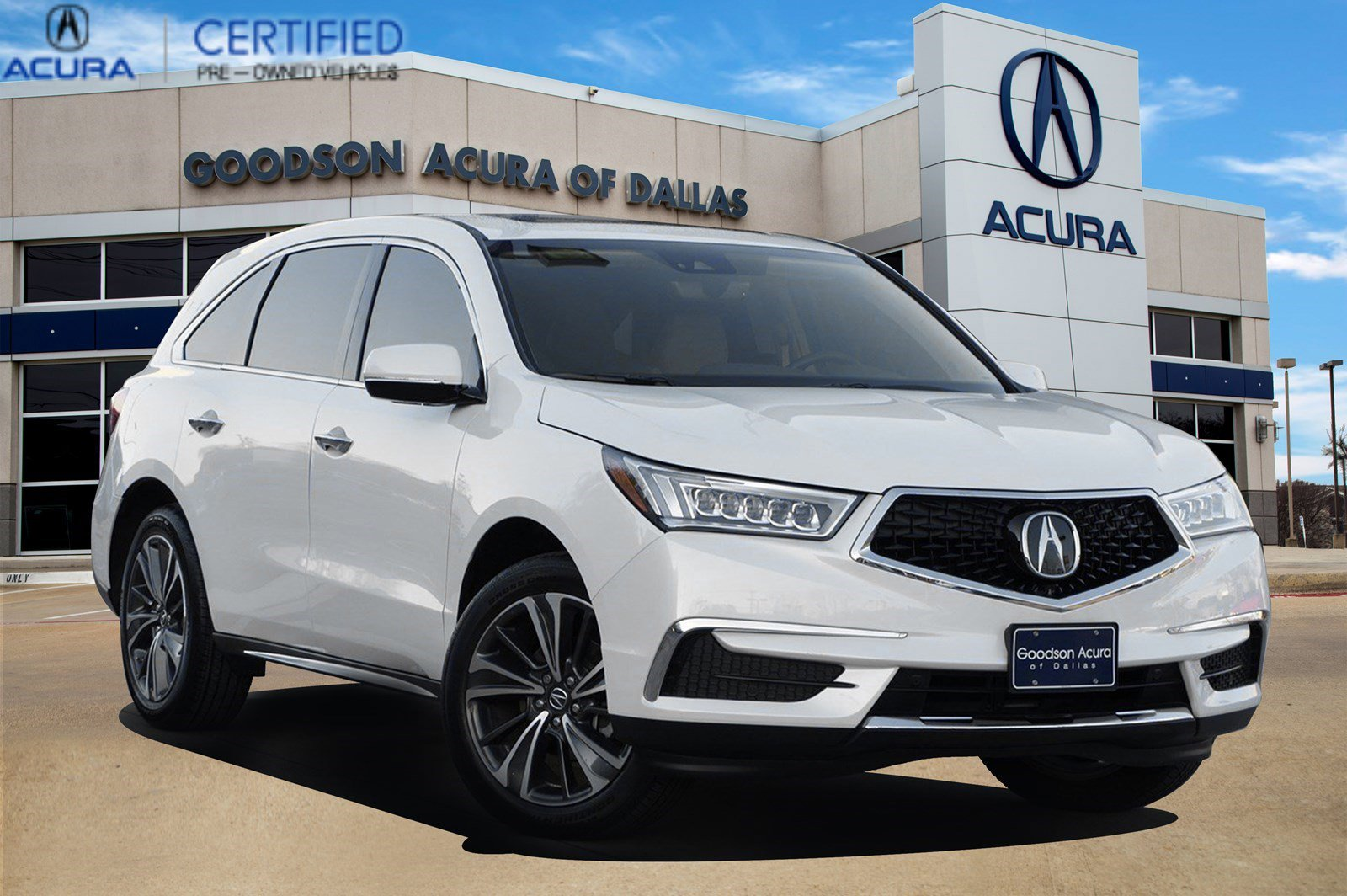 2020 Acura MDX FWD w/ Technology Package image