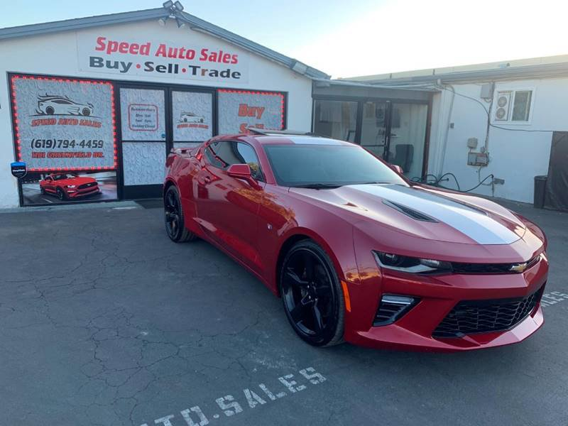 2017 Chevrolet Camaro SS Coupe w/ 1SS image